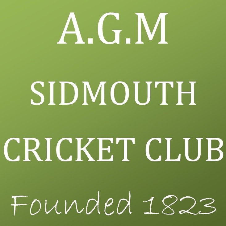 Sidmouth Cricket Club - Annual General Meeting 2017<