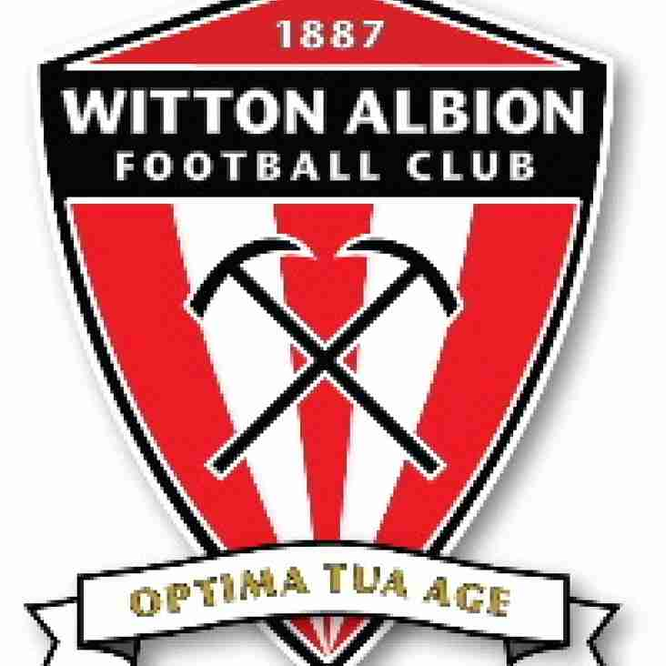 Witton announce new sponsor and investor