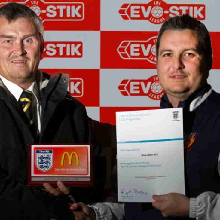 Mills presented with FA award