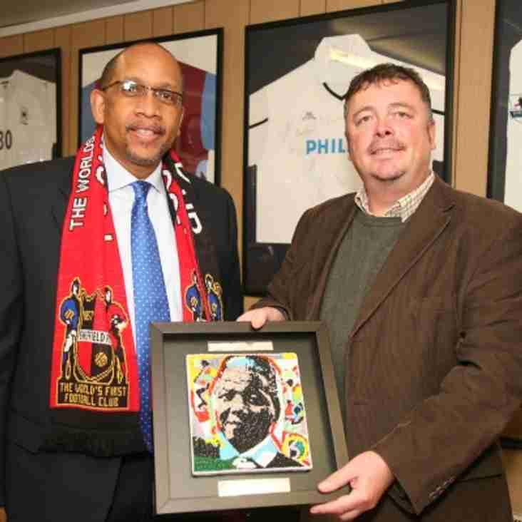 Sheffield honoured by royal visit