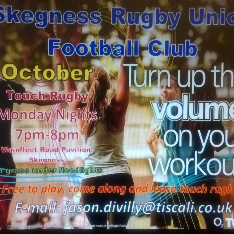 Free touch rugby for all!