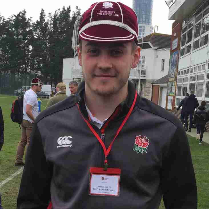Theo Barkway-Hall Represents England Counties