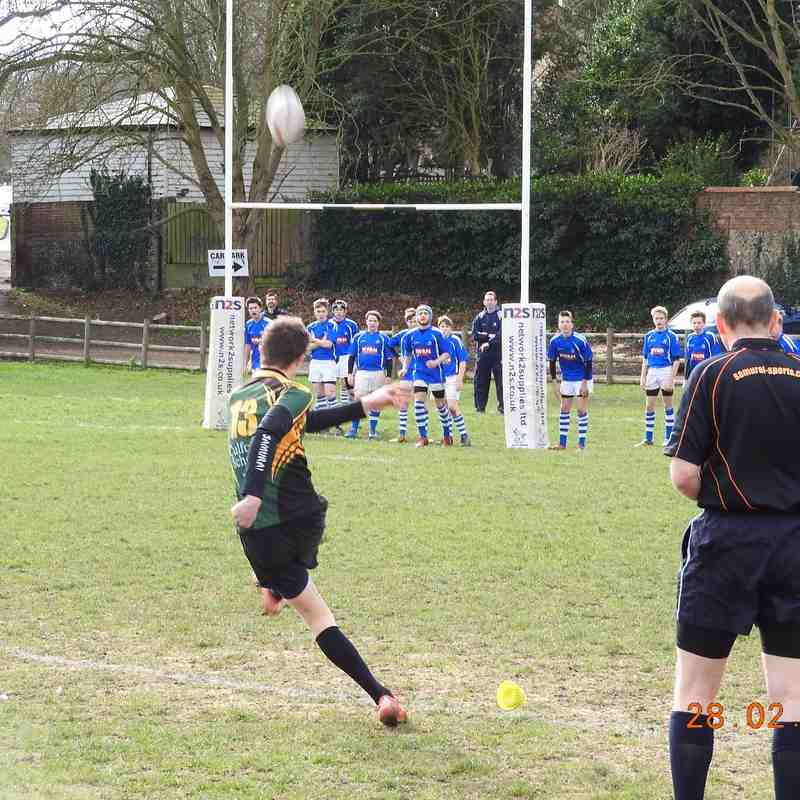 U15s Diss at home