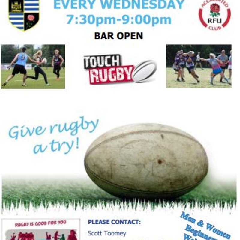 Touch rugby for all