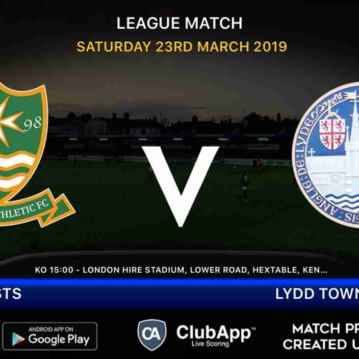 Firsts host Lydd Town
