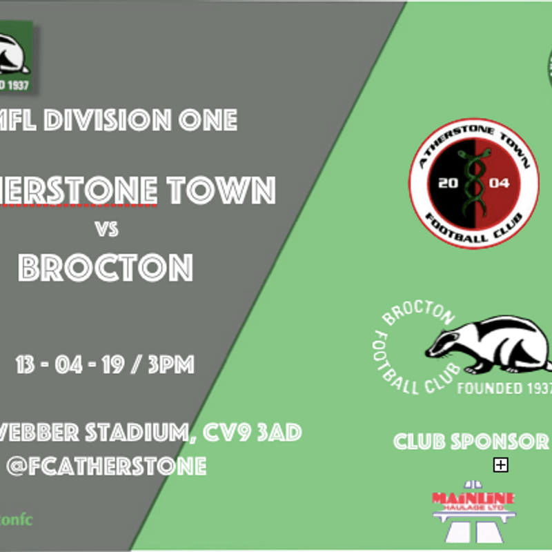 MATCH PREVIEW: It's a trip down the A5 to visit Atherstone tomorrow