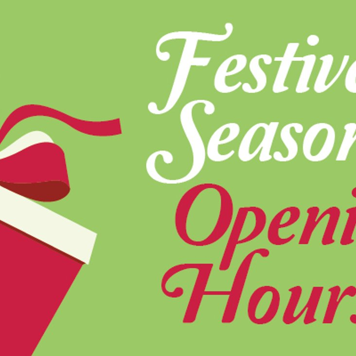 Festive opening hours at CBH<