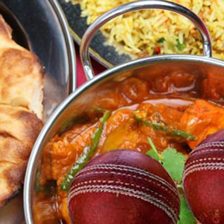 Curry night this Saturday, after the cricket<