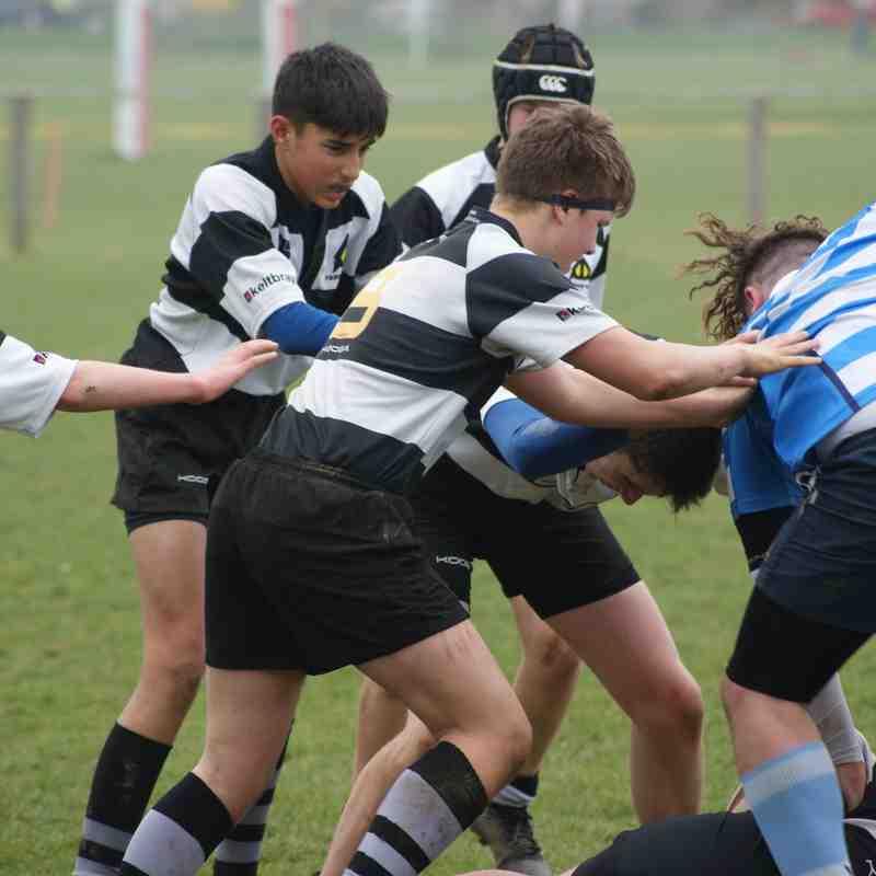 U16Bs vs Warlingham