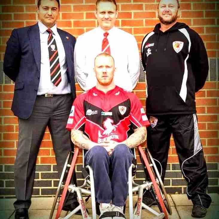 DVRFC Wheelchair Rugby Squad Launch