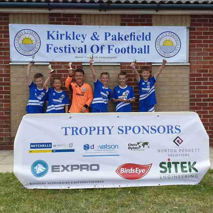 2019 Kirkley and Pakefield Football Festival
