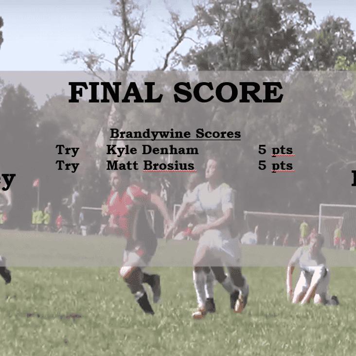 09/23/17 Match Report vs. South Jersey RFC