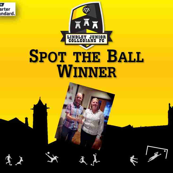 Spot the Ball Winner