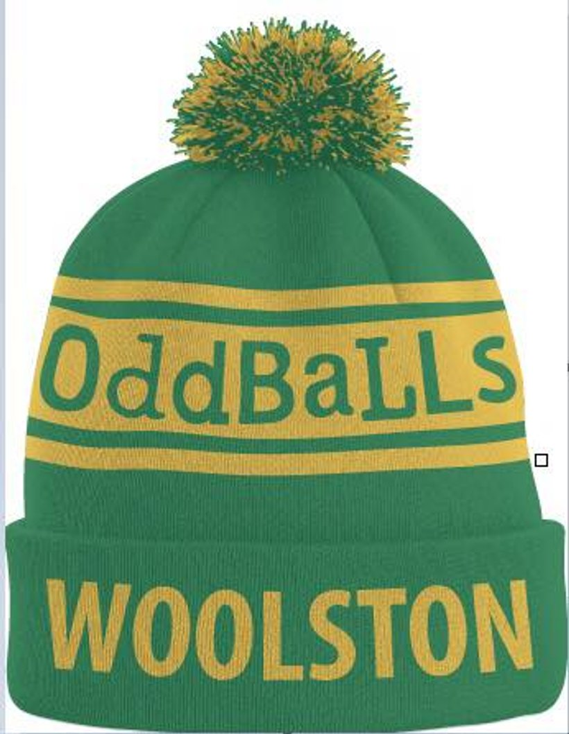 2e312b3bf58 Woolston Rovers OddBalls bobble hat on sale. ↧ Show more ↥ Show less