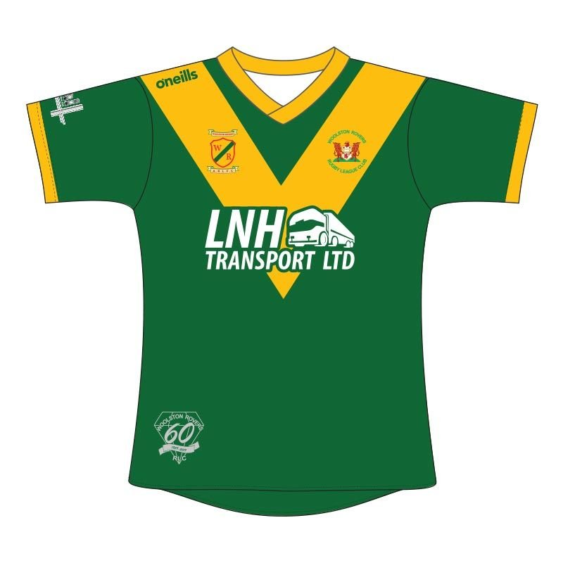 WOOLSTON ROVERS OFFICIAL 60th ANNIVERSARY REPLICA PLAYING SHIRT NOW AVAILABLE