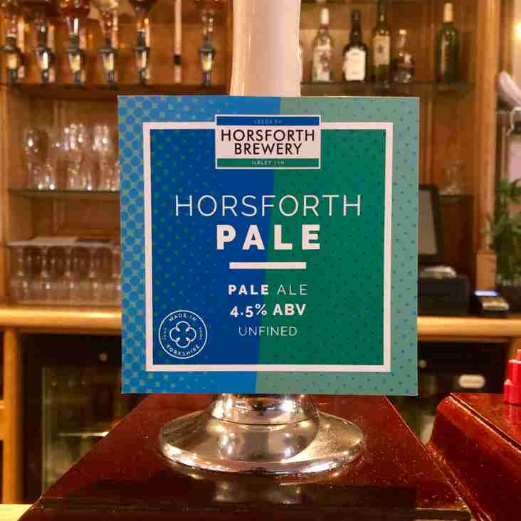 HORSFORTH PALE ALE MAKES DEBUT AT HQ