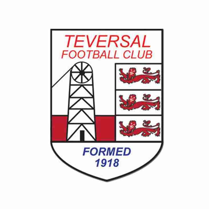 This week's Teversal FC fixtures...