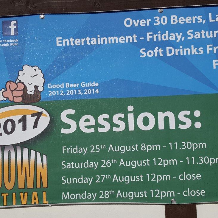 Leigh RUFC Beer Festival<