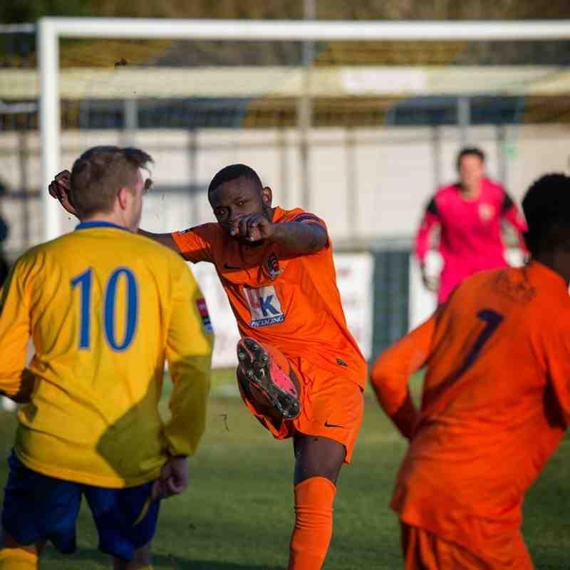 AFC Sudbury vs Maldon & Tiptree 17/1/15
