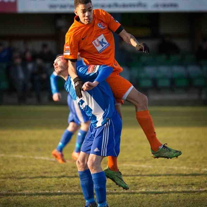 Wroxham vs Maldon & Tiptree 24/1/15