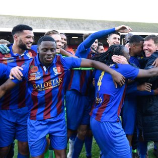 The jammers just pip Dereham Town to retain league leadership