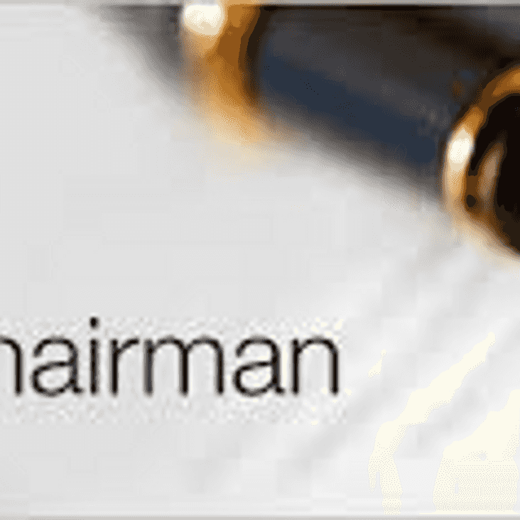 Chairman's message - August 2019