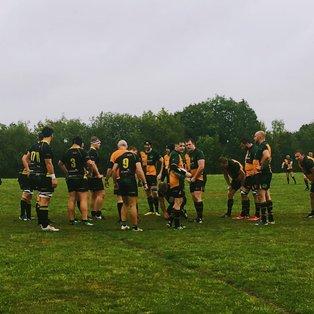 Barns Green Let Winning Streak Slip in the Rain