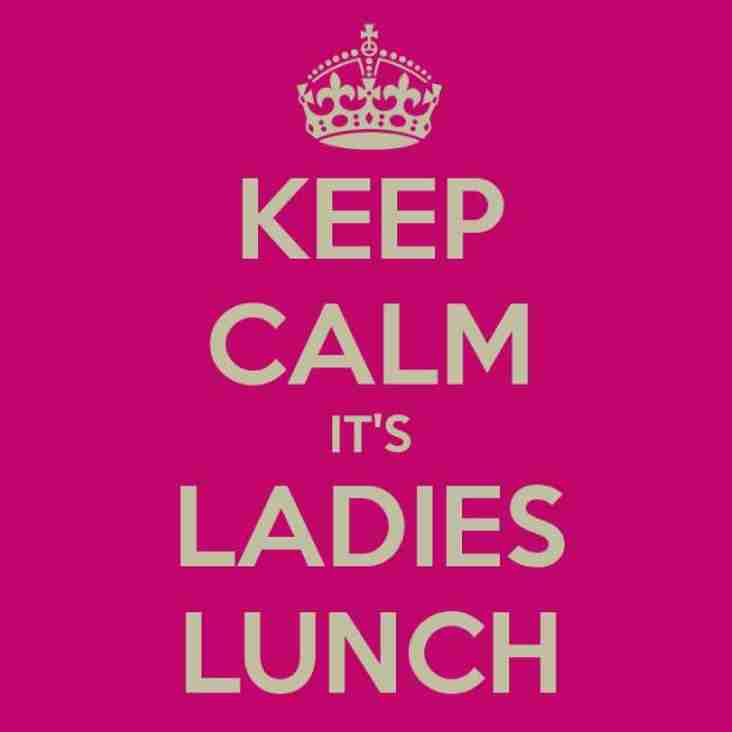 It's Ladies lunch- Saturday 2nd March