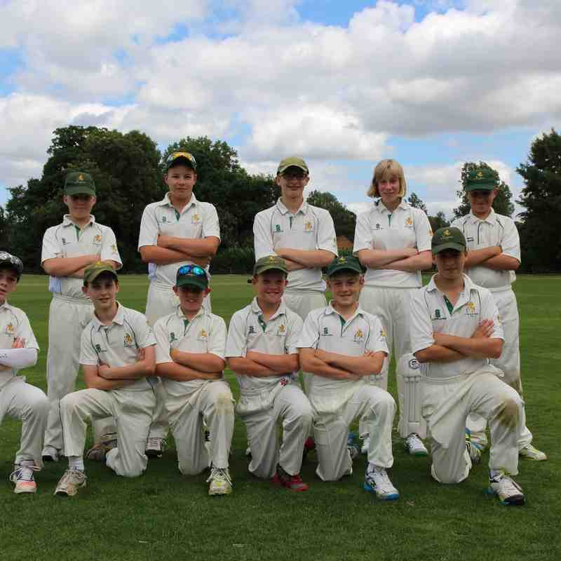 Zimbabwe u13 Cricket Academy play Cublington u13 July 2016