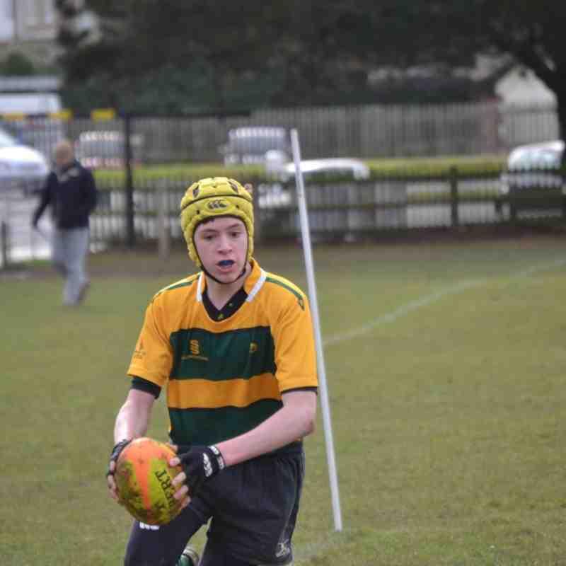 Under 13 v Crowborough - 22nd February 2015