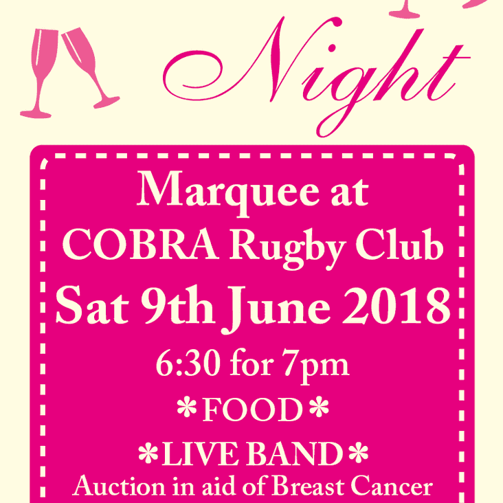 Cobra Ladies Night (9th June)