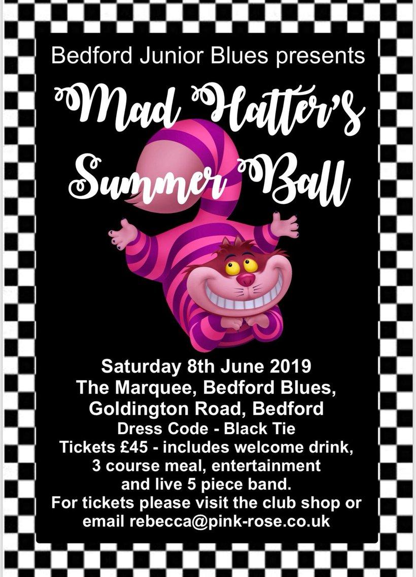 b35a3aa11b4 BJB Mad Hatters Summer Ball - News - Bedford Junior Blues RUFC