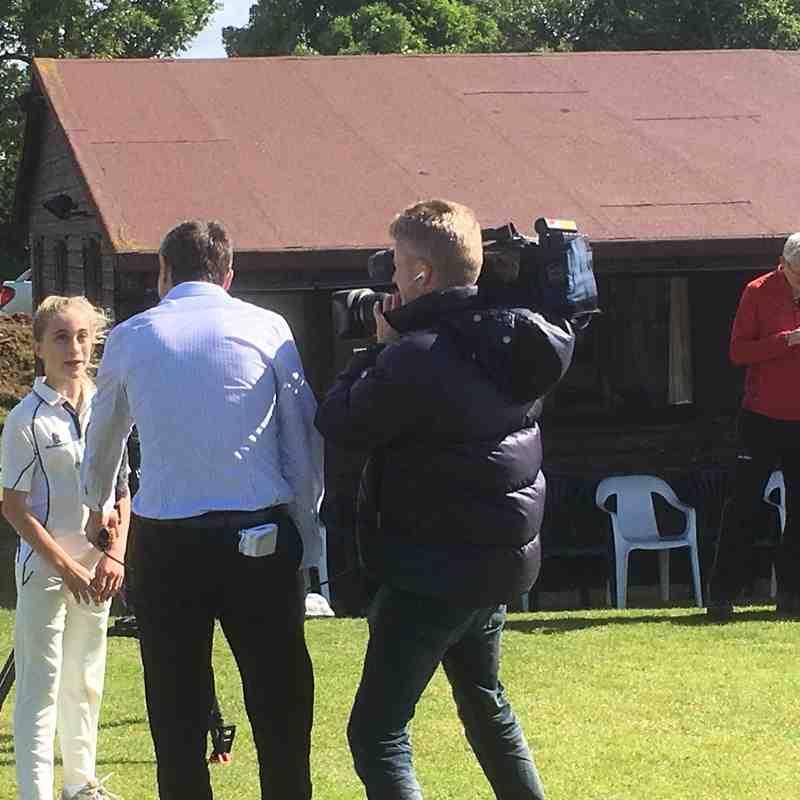 Sky Sports News at Chearsley 2016