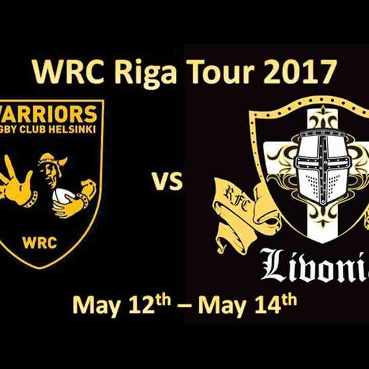 Warriors heading to Riga, Latvia