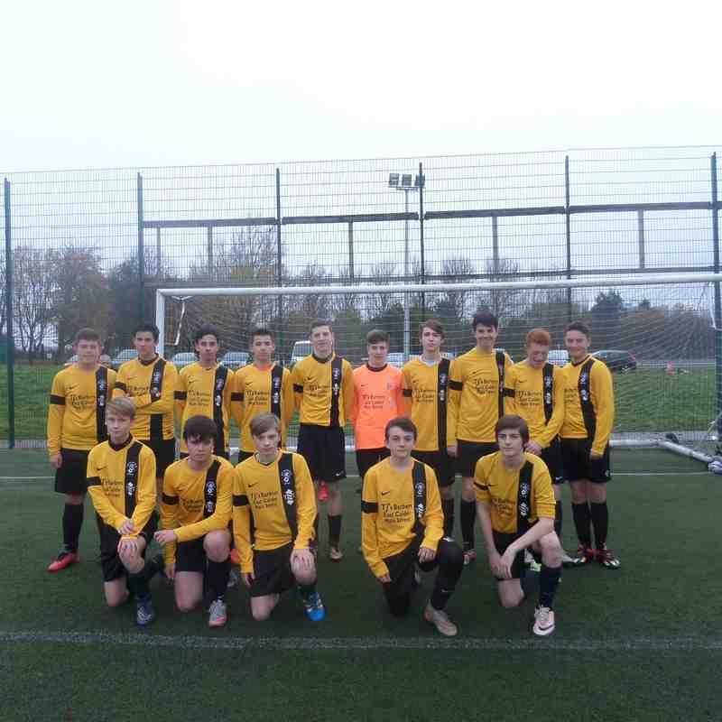 Squad v Gairdoch Utd 13_11_16
