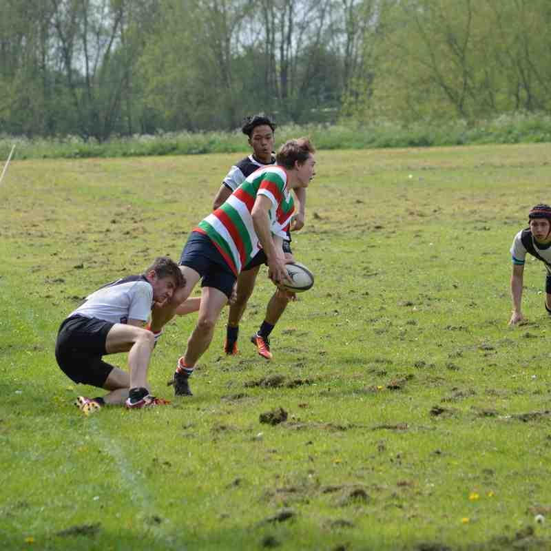 Burton U16s V Lutterworth U16s 30-04-17