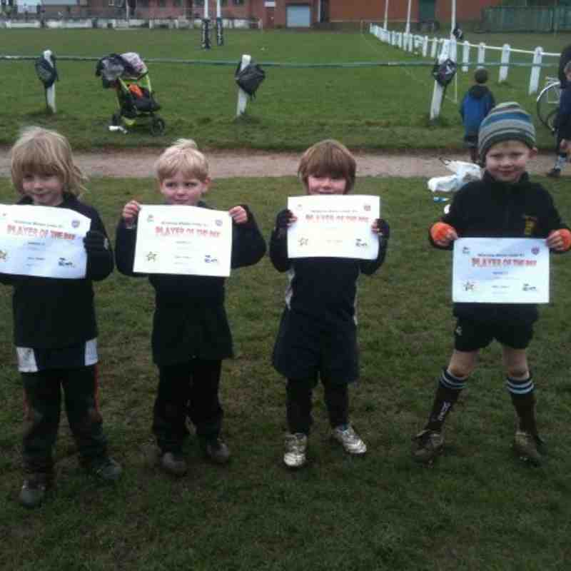 Under 6's Players of the Day 21st March 11