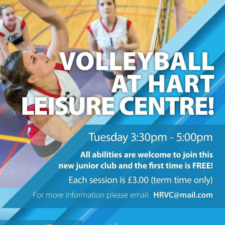 Hart Leisure Centre Embraces Volleyball<