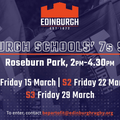 Edinburgh Schools' 7s Series
