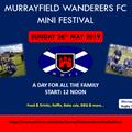 Murrayfield Wanderers FC Mini Festival