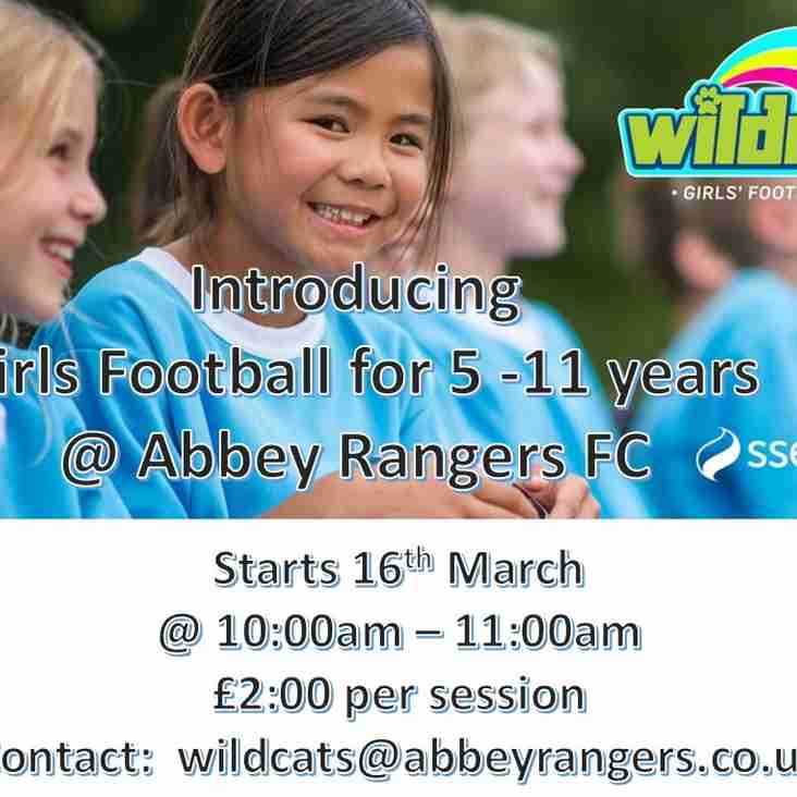 WIldcats Launched at Abbey Rangers