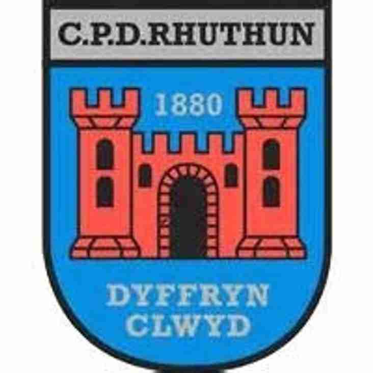 Hawarden Reserves lose away at Ruthin