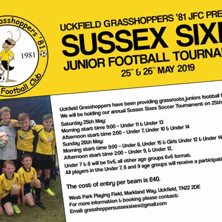 Sussex Sixes Tournament 2019