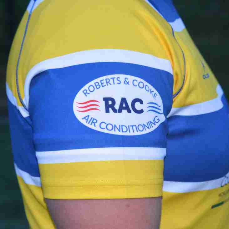 Telford Raiders welcome RAC Air Conditioning as new sponsors.