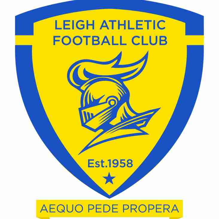 Leigh Athletic Vacancy