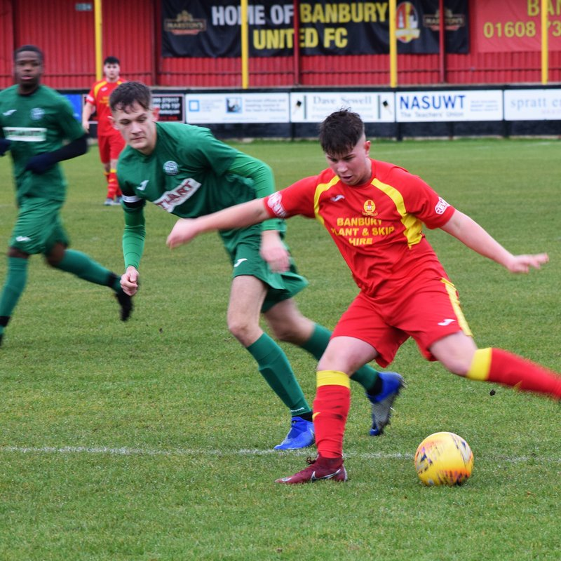 VISION FOR PLAYER PATHWAY AT BANBURY UNITED TAKES SHAPE