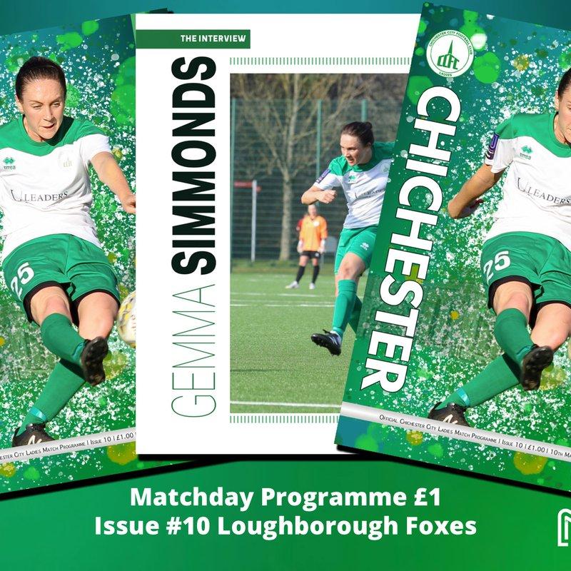 Gemma Simmonds talks about her football journey in Loughborough programme