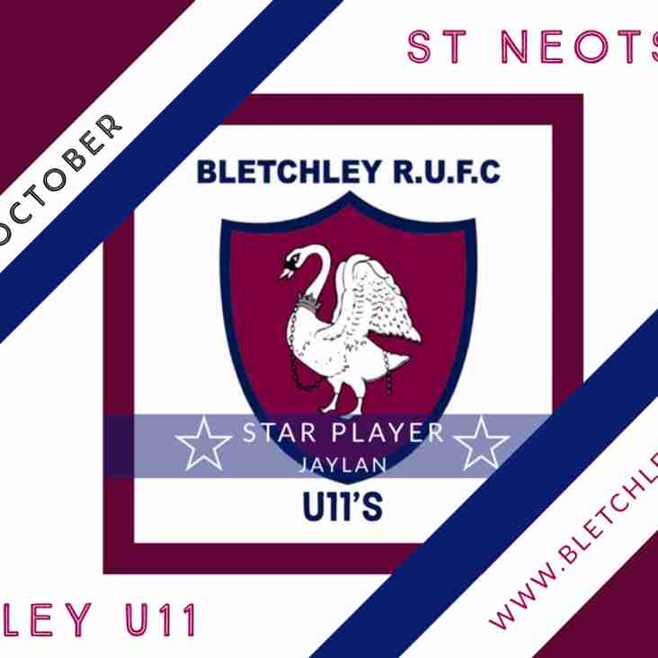 Game day for Bletchley U11's