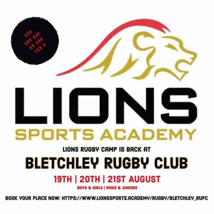 Lions Sports Academy returns to Manor Fields