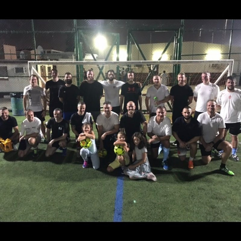 Ex Pat Squaddies Organise 5 Aside Football Competition For Soldiers League Charity